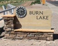 Entrance to Burn Lake, Las Cruces, NM, 2010
